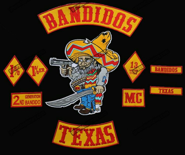 #TexasRaised #sylb | Motorcycle clubs, Bandidos motorcycle
