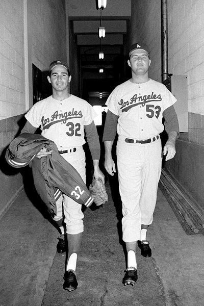 Sandy Koufax and Don Drysdale, Los Angeles Dodgers