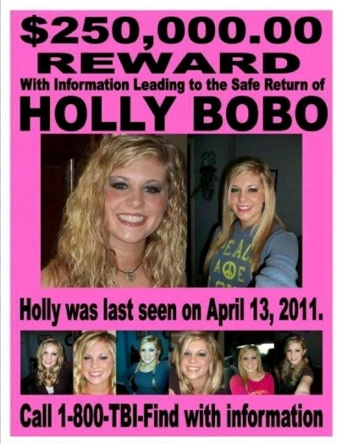 holly bobo missing since 4/13/11