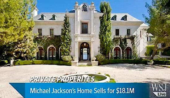 Michael Jackson's Home Sells for $18.1 Million (VIDEO)