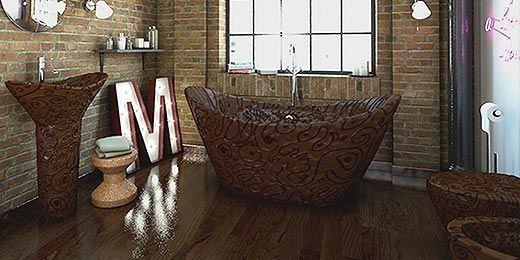 Badezimmereinrichtung Komplett : Diese Badezimmermöbel bestehen ...
