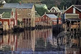 Where I grew up -- Seal Cove on Grand Manan island