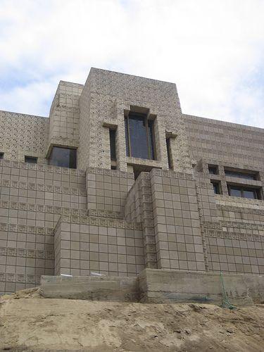 Ennis-Brown House. Frank Lloyd Wright Textile Block Period. 1924. Los Angeles, California