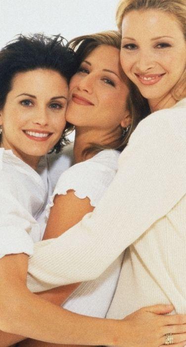 """Courtney Cox, Jennifer Aniston and Lisa Kudrow, """"FRIENDS"""""""