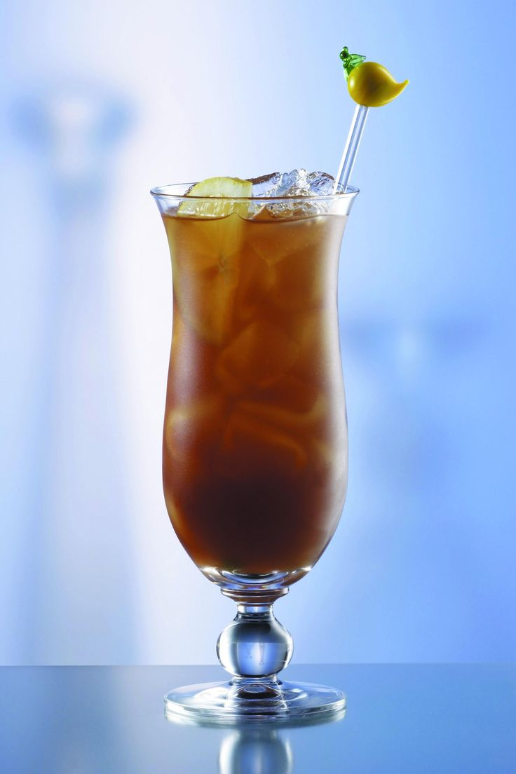 Here is Cocktail of the day at Hotel Aqua (included All inclusive)                            Long Island Tea                                          (30 ml) vodka (30 ml) gin (30 ml) rum (30 ml) orange liqueur (60ml) cola Sugar syrup 1 wedge lemon                                            Combine and mix all ingredients in a glass, and serve. Enjoy:)