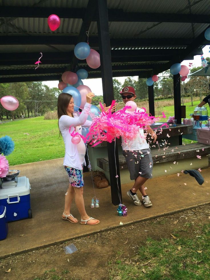 Gender Reveal of our Daughter