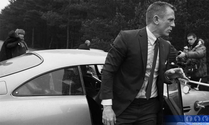Skyfall: James Bond (Daniel Craig) Exits his Aston Martin