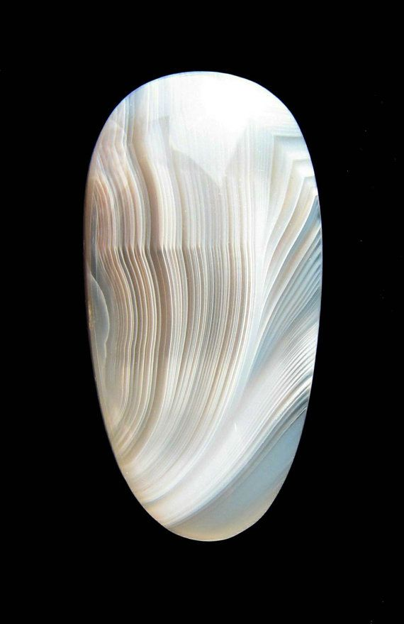 Lovely Luminous Botswana Agate Cabochon by dmargocr on Etsy