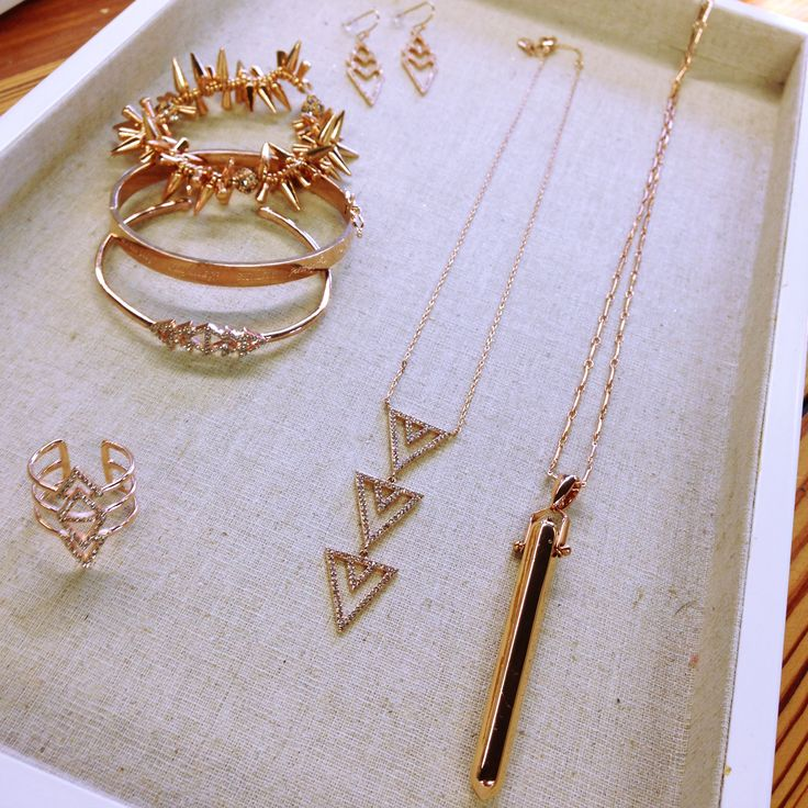 Rose gold everything. We can't get enough | Stella & Dot .www.stelladot.com/krissymackinnon