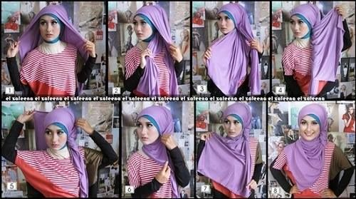 Colorful Hijab Tutorials