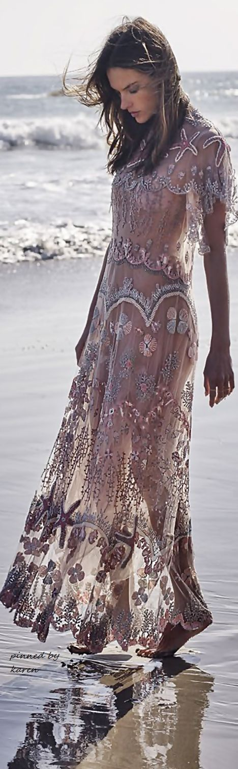 All Things Fab..... - Boho Style ~ PHOTOGRAPHER: STEWART SHINING - MODEL: ALESSANDRA AMBROSIO