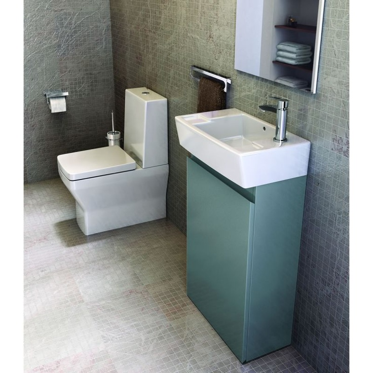 Britton Narrow Floorstanding Unit And Washbasin. Basin And Furniture Packs  From UK Bathrooms: Www