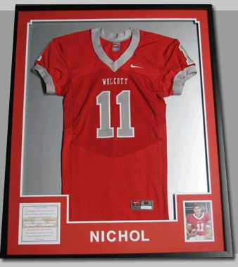 football jersey shadow box