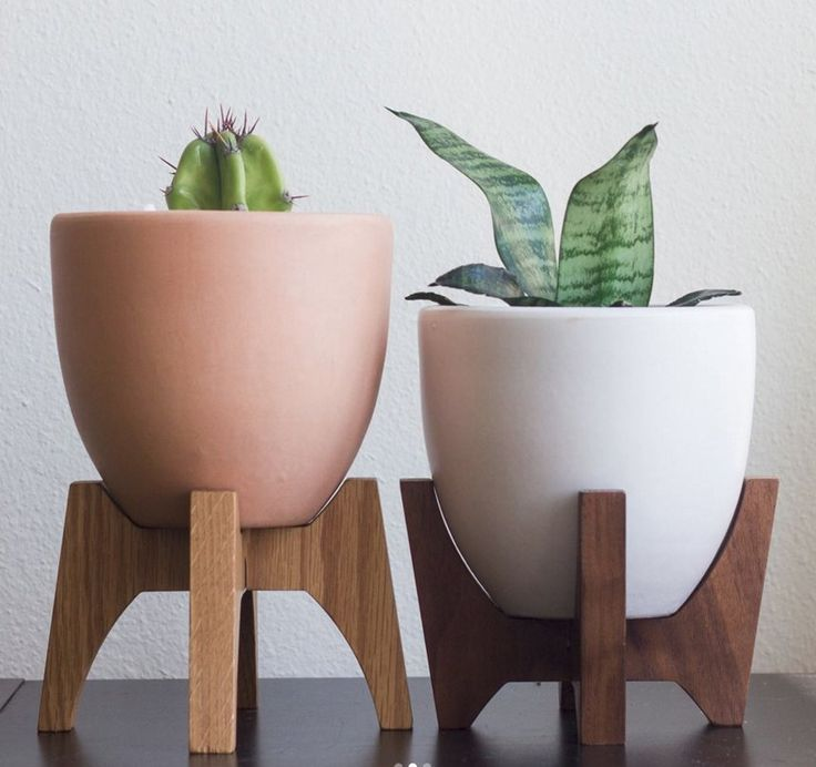 Modern Minimalist, Minimalist Design, The Stand, Ceramic Planters, Plant  Stands, Housewarming Gifts, Petite Size, Corporate Offices, Hardwood Amazing Pictures