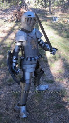 Coolest Kid's Medieval Knight DIY Halloween Costume...