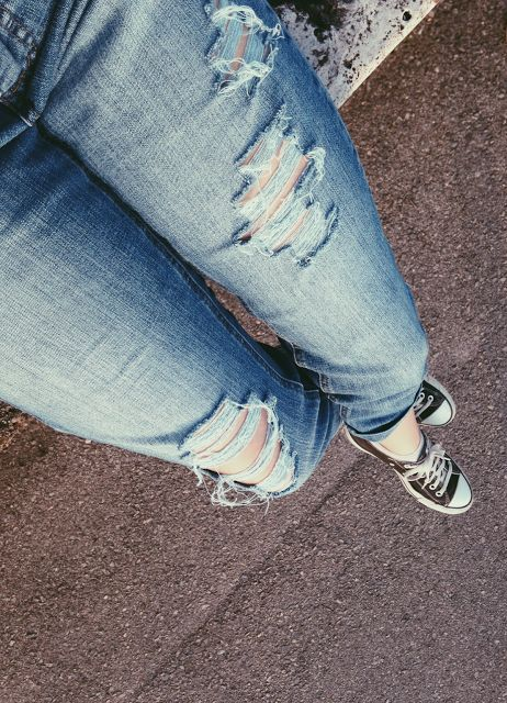 How to perfectly ripp your jeans!!!