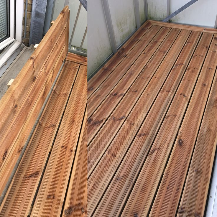 I handmade this wooden floor for a friend of mine for the balcony.