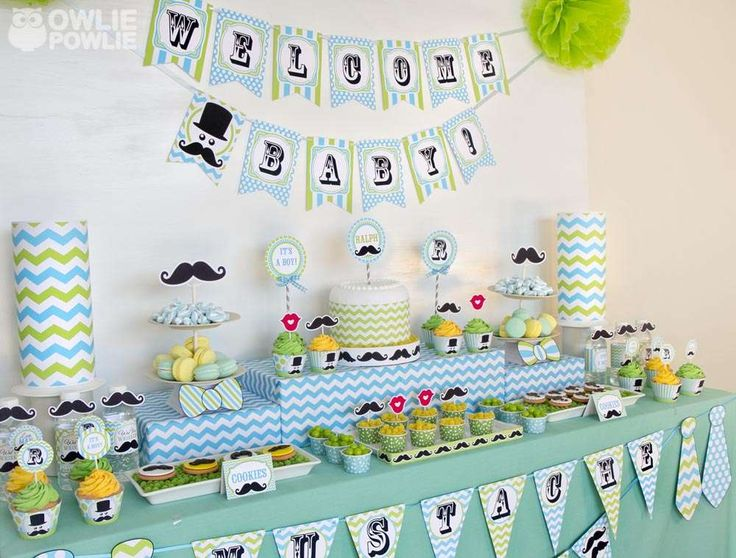 themes boys little man mustache baby shower theme little man