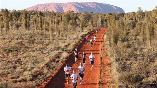 Australian Outback Marathon - Alice Springs Area - Northern Territory