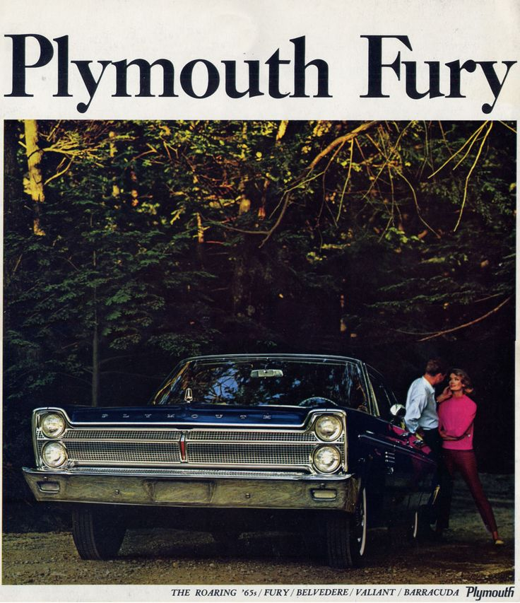 Plymouth Fury 1965 Dreams Pinterest Plymouth fury