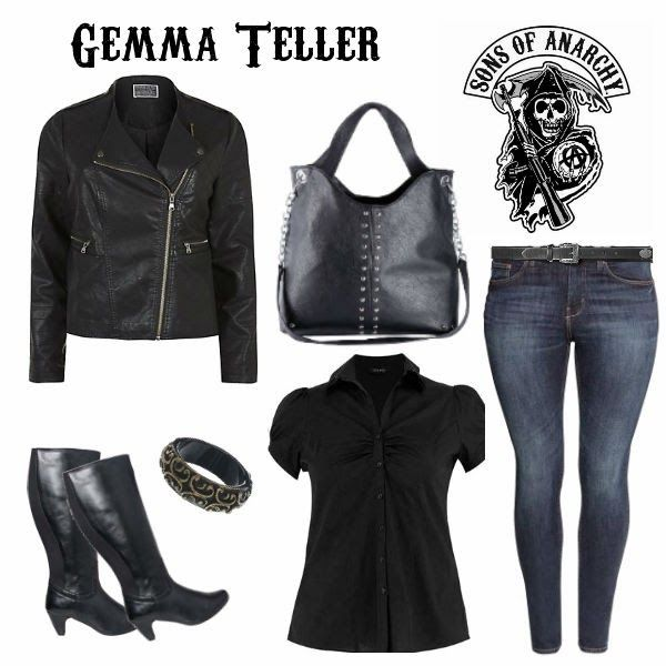 Dress like..Gemma Teller - Sons of Anarchy Plus size!