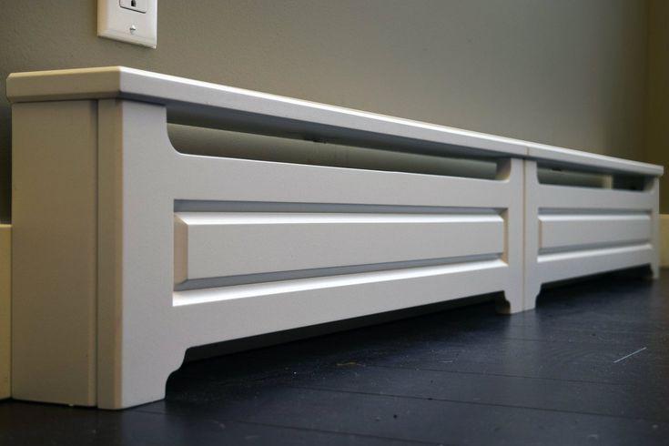 Custom Built Baseboard Heat Cover Baseboard Covers