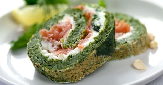 Spinach and Salmon Roulade kMix Kitchen Machine recipe by Kenwood NZ