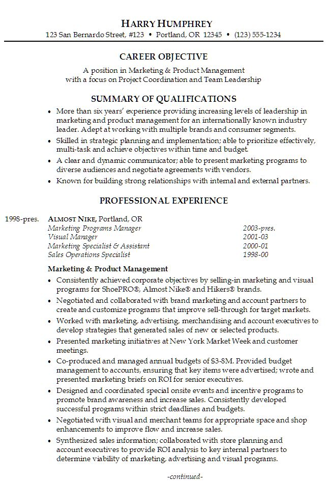 Best 25+ Resume summary examples ideas on Pinterest Linkedin - product manager resume example