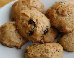 galletas de boniato y gotas de chocolate