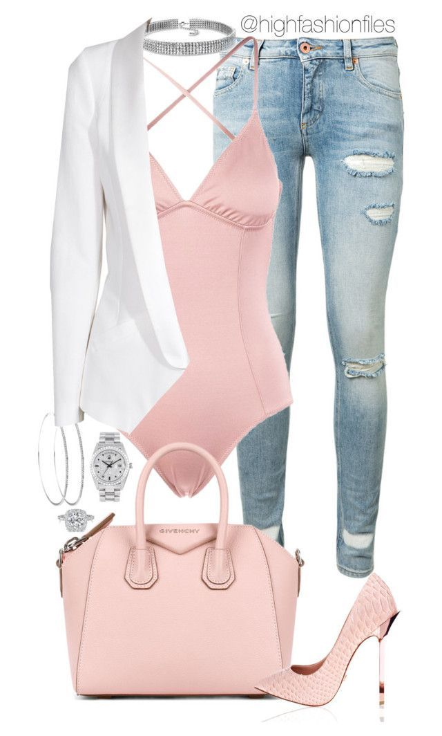 """""""Spoiled"""" by highfashionfiles ❤ at Polyvore with Off-White, Eberjey … #be …   – Outfitterie&Lingerie"""