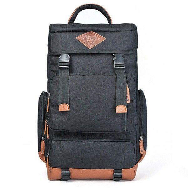 Waterproof laptop backpack Men Travel Book bag Kling mountain