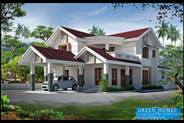 4bhk kerla home design architects in kerala architects in for Dream home kerala