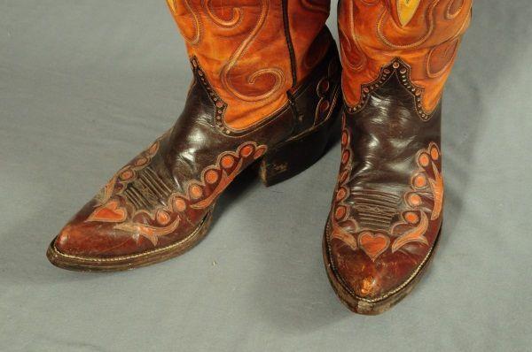 Pair of Custom Cowboy Boots