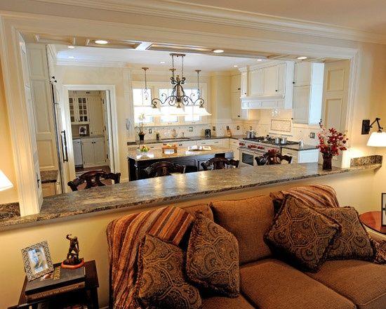 59 best pass through windows images on pinterest kitchen - Open window between kitchen living room ...