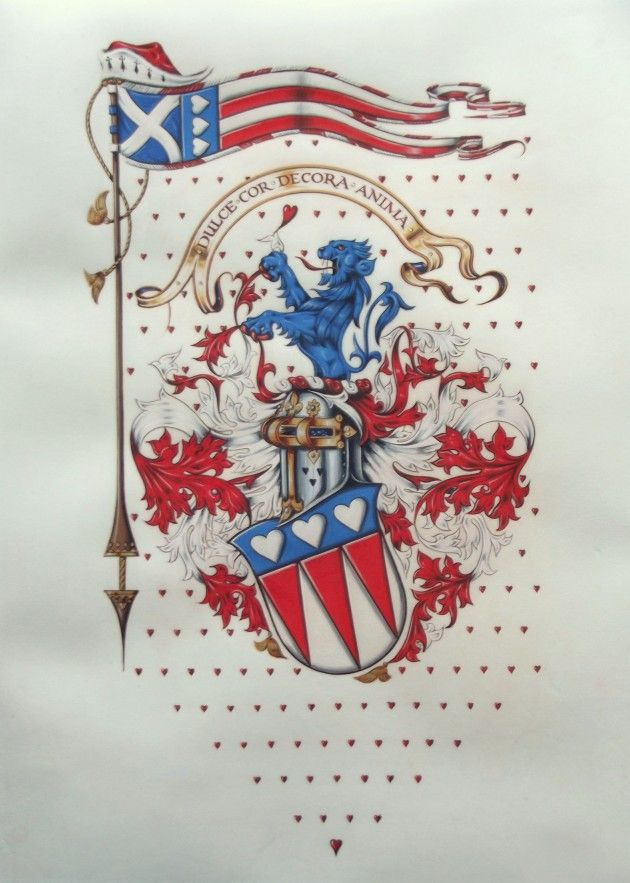 Arms of New Abbey by Neil Bromley