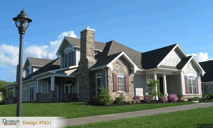 30 best french country home plans images on pinterest for Quadplex designs