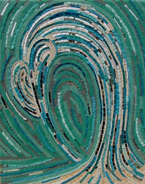 Mosaic Art : 'LIFECYCLE' MOSAIC£300