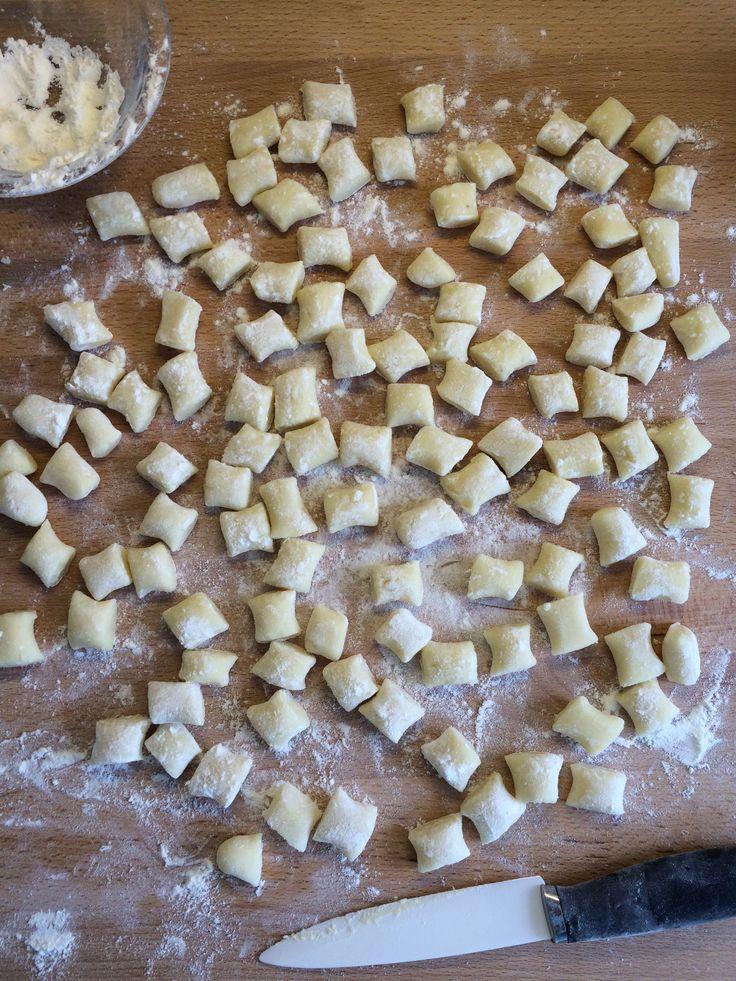 Gnocchi die beste Grundrezept der Italienischen Küche