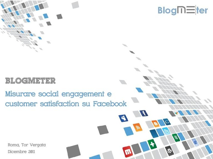 Measuring social engagement and customer satisfaction on Facebook
