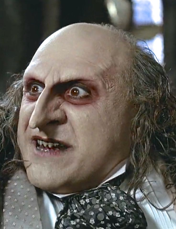 N°9 - Danny DeVito as Oswald Cobblepot / Penguin - Batman Returns by Tim Burton - 1992