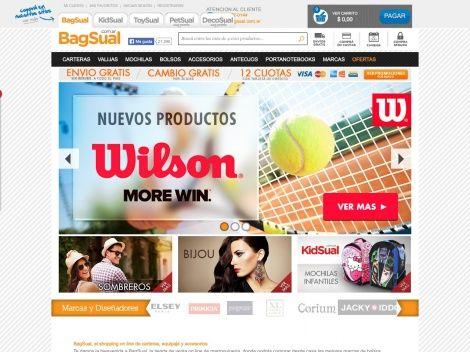 Bagsual: tienda online de Argentina donde vas a encontrar bolsos y carteras de las mejores marcas!