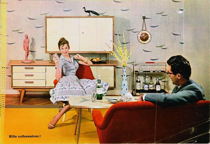 1950's front room - Google Search