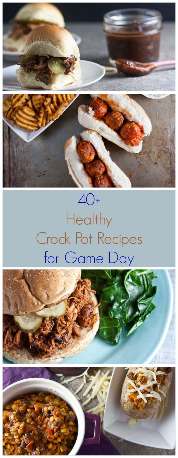 40 Crockpot Recipes for Game Day | Healthy & Delicious Chicken: https://www.zayconfoods.com/campaign/14