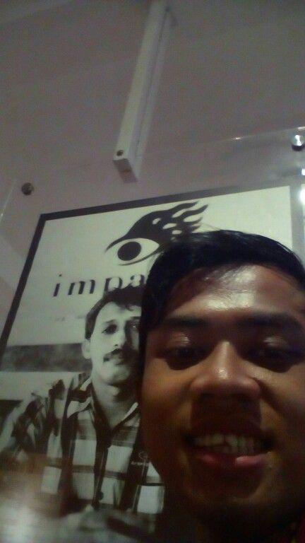 Munir & me just photo
