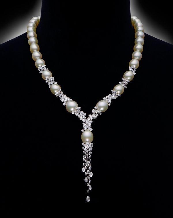 Mikimoto @ Baselworld 2014 DEW Necklace Designer: Yoshio SATO