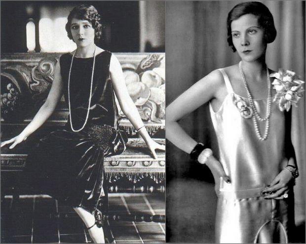 Стиль 1920-х годов в одежде - фото