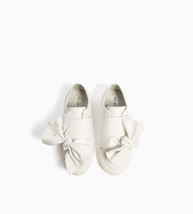 PLIMSOLLS WITH BOW-Sneakers-SHOES-GIRL | 5-14 years-KIDS | ZARA United Kingdom