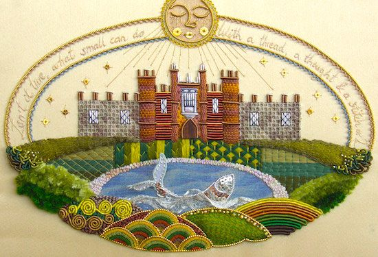"""""""Preserving the Past and Creating the Future: The Work of Professional Embroiderer"""" with Jenny Adin-Christie"""