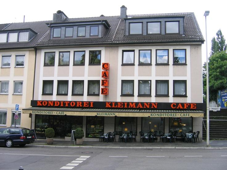 Bonn, Germany. Konditorei Kleinmann cafe