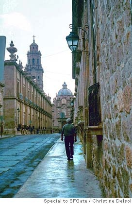 Morelia, Michoacan, Mexico, The spiral of creation is feminine, therefore. we…